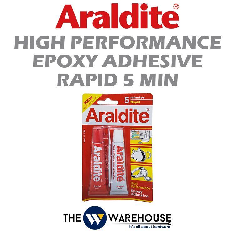 Araldite High Performance Epoxy Adhesive Rapid 5 Min