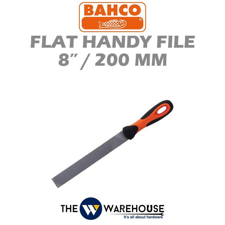 Bahco Flat Handy File 200 mm