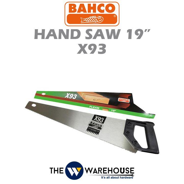 Bahco Hand Saw X93 19