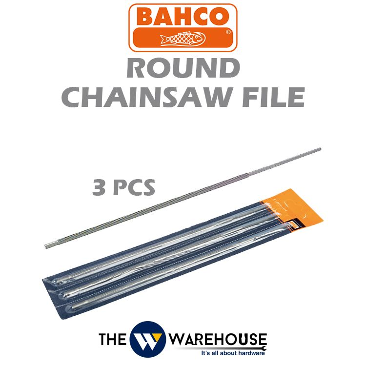 Bahco Round Chainsaw File