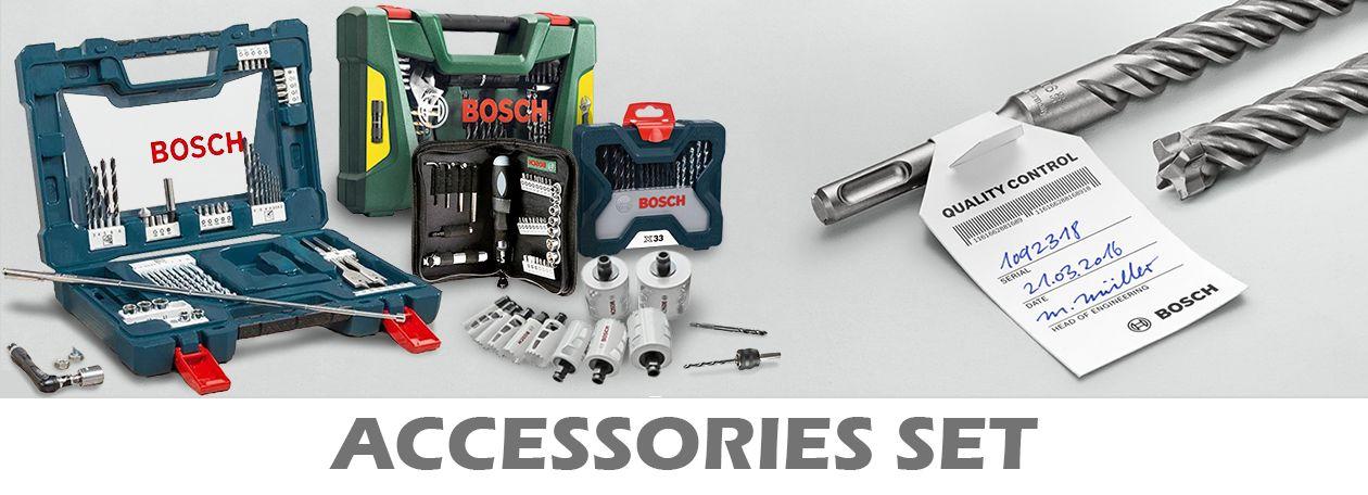 Bosch Accessories Set