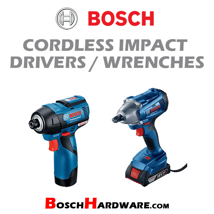Cordless Impact Drivers/Wrenches