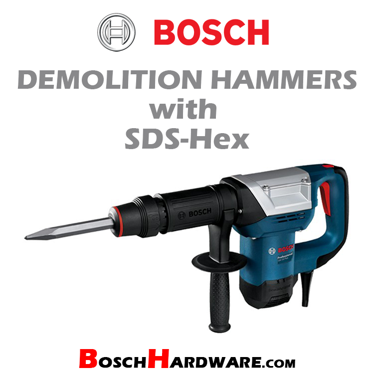 Demolition Hammers with SDS-Hex