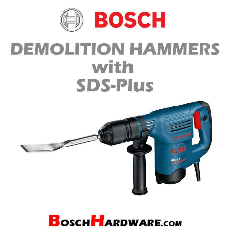 Demolition Hammers with SDS-Plus