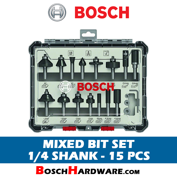 BOSCH 15PCS MIXED BIT SET 2607017473 BH