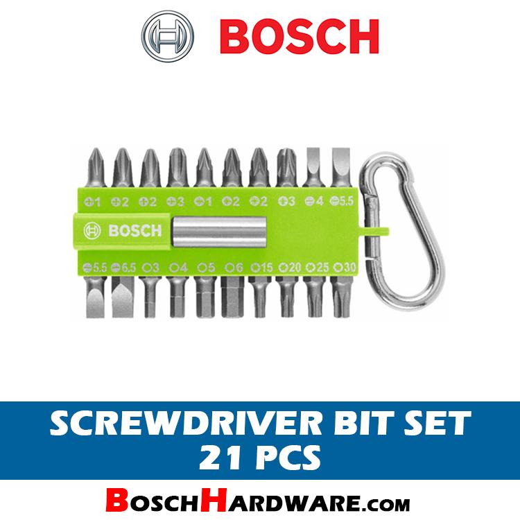 Bosch 21 pcs Screwdriver Bit Set 2607002823 bh