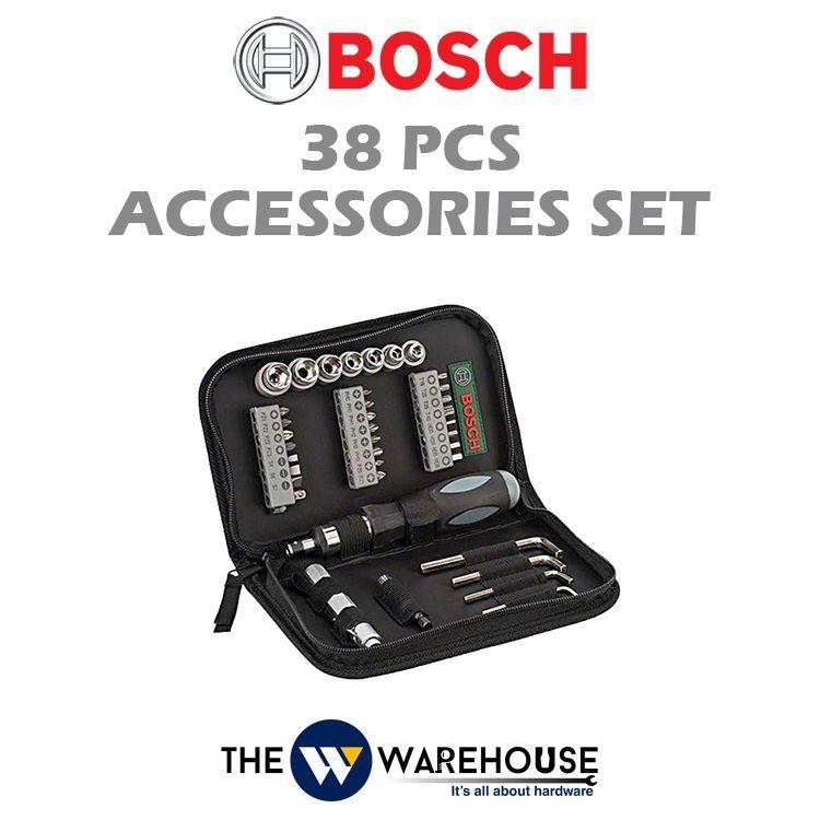 Bosch 38pcs Accessories Set 2607019506