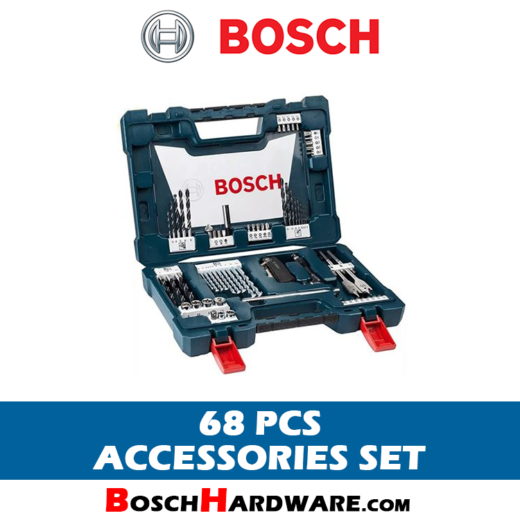 BOSCH 68 PCS ACCESSORIES SET-BH