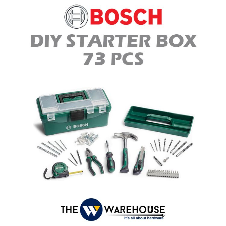 Bosch 73 pcs DIY Starter Box 2607011660