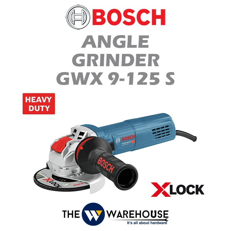 Bosch Angle Grinder with X-lock GWX 9-125 S
