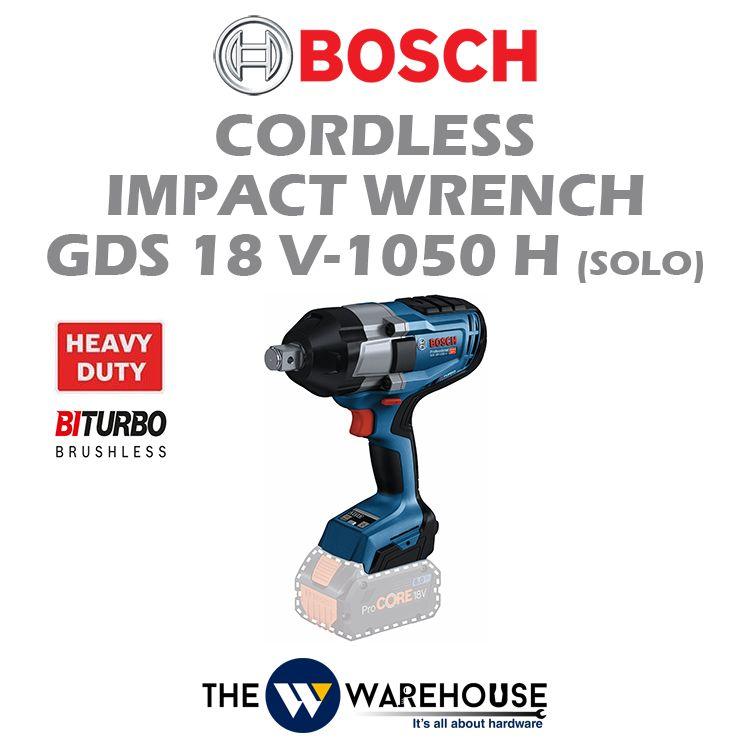 Bosch Cordless Impact Wrench GDS 18V-1050 H