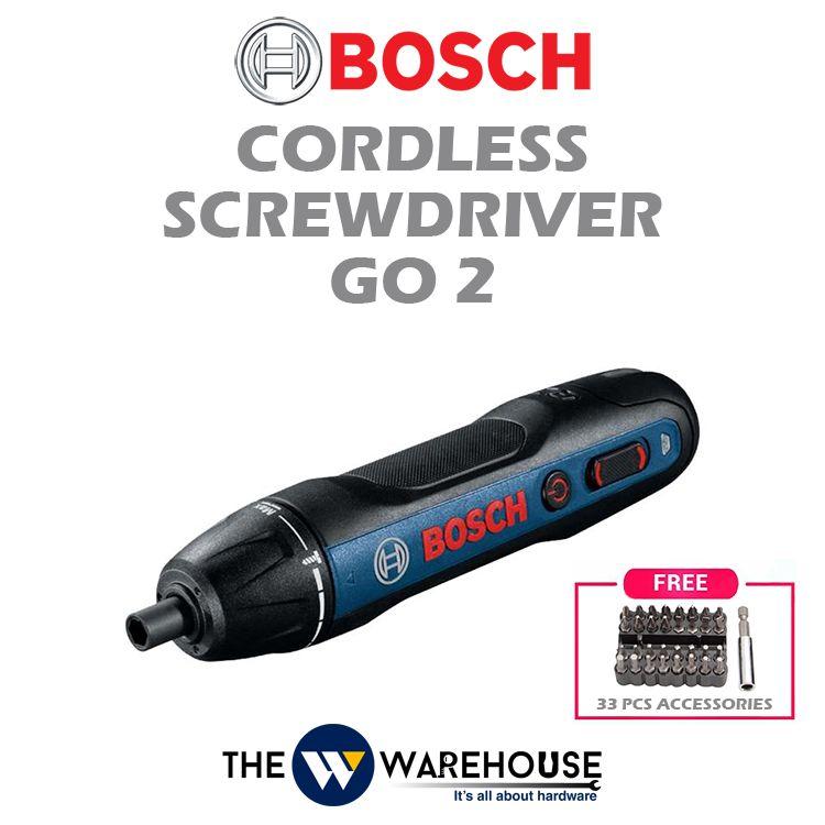 Bosch Cordless Screwdriver Go 2
