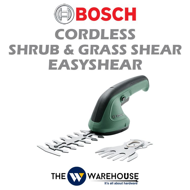 Bosch Cordless Shrub and Grass Shear EasyShear