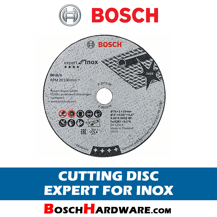 Bosch Cutting Disc Expert for Inox 2608601520 BH