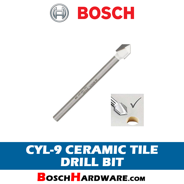 Bosch CYL-9 Ceramic Tile Drill Bit 6mm 2608587161