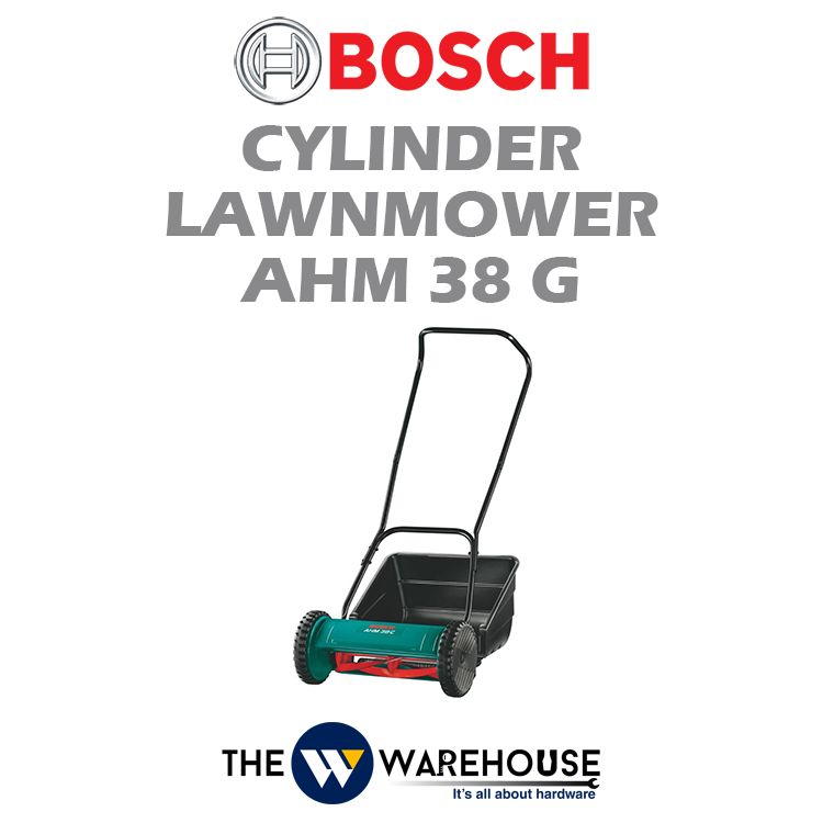 Bosch Cylinder Lawnmower AHM38G