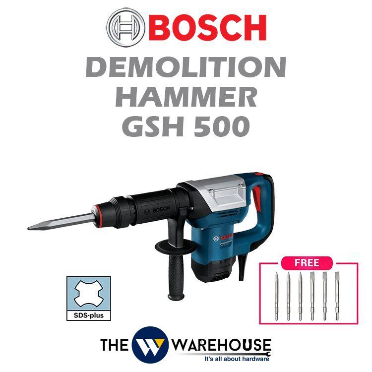Bosch Demolition Hammer GSH500 - Combo 1
