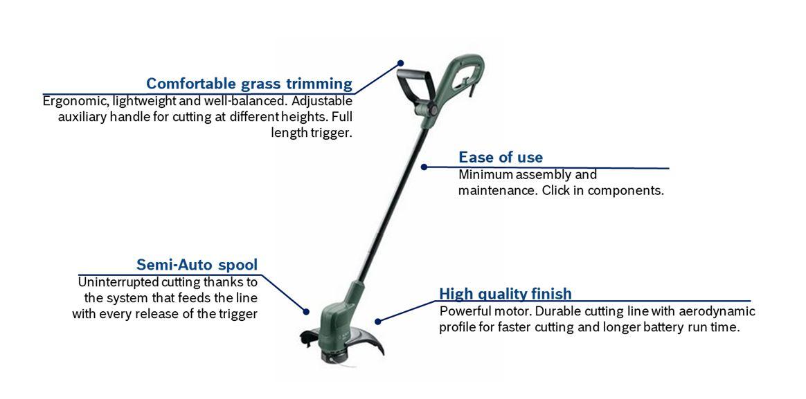 Bosch EasyGrass Cut 23-5