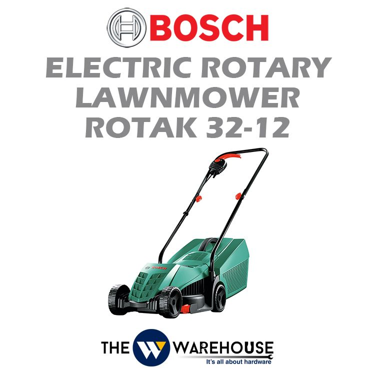 Bosch Electric Rotary Lawnmower Rotak 32-12