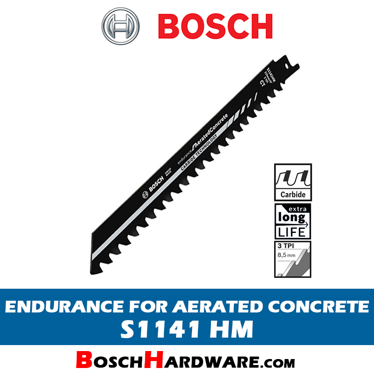 BOSCH ENDURANCE FOR AERATED CONCRETE S1141HM 2608650971 BH