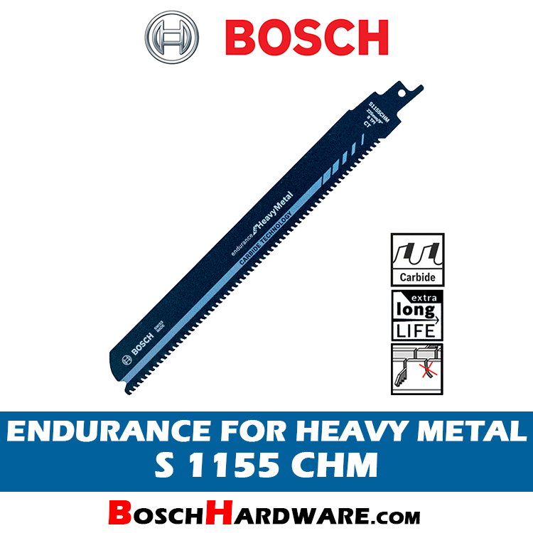 BOSCH ENDURANCE FOR HEAVY METAL S1155CHM 2608653182 BH