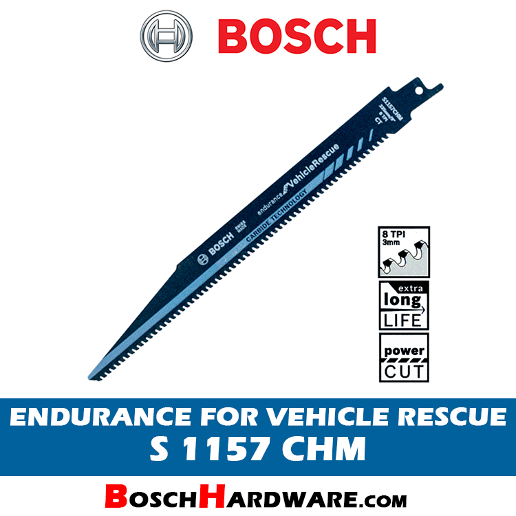BOSCH ENDURANCE FOR VEHICLE RESCUE S1157CHM 2608653132 BH