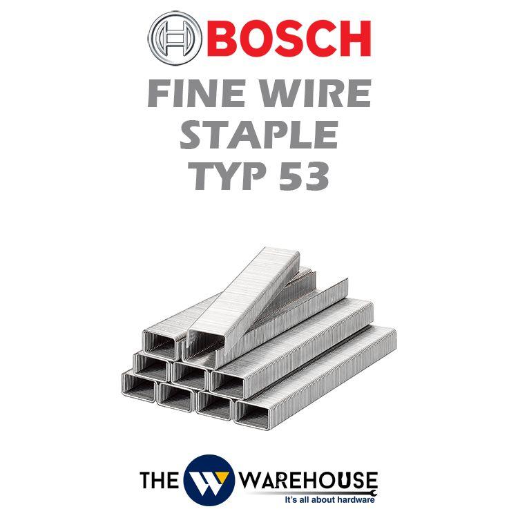 Bosch Fine Wire Staple TYP 53