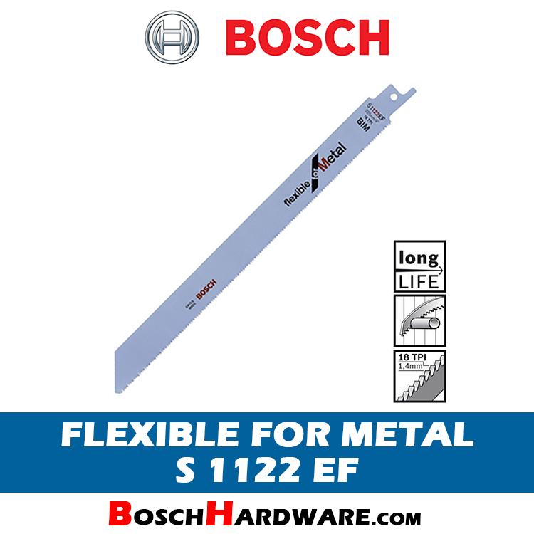 BOSCH FLEXIBLE FOR METAL FLUSH CUT S1122EF 2608656020 BH