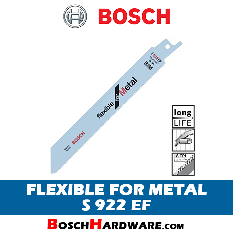 BOSCH FLEXIBLE FOR METAL THIN CUT S922EF 2608656015 BH