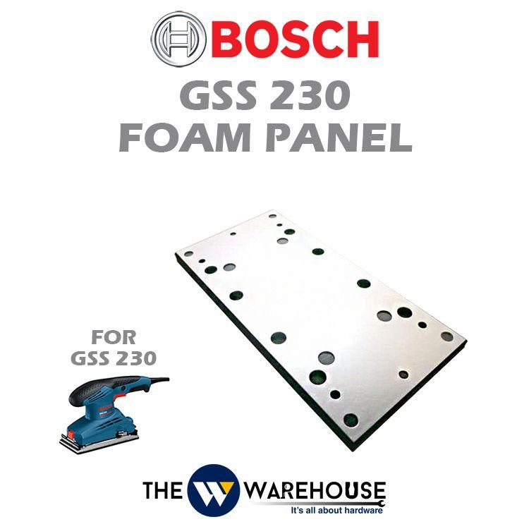 Bosch Foam Panel for GSS230 2609100403