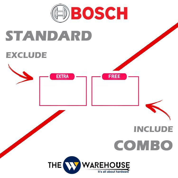 Bosch free & extra