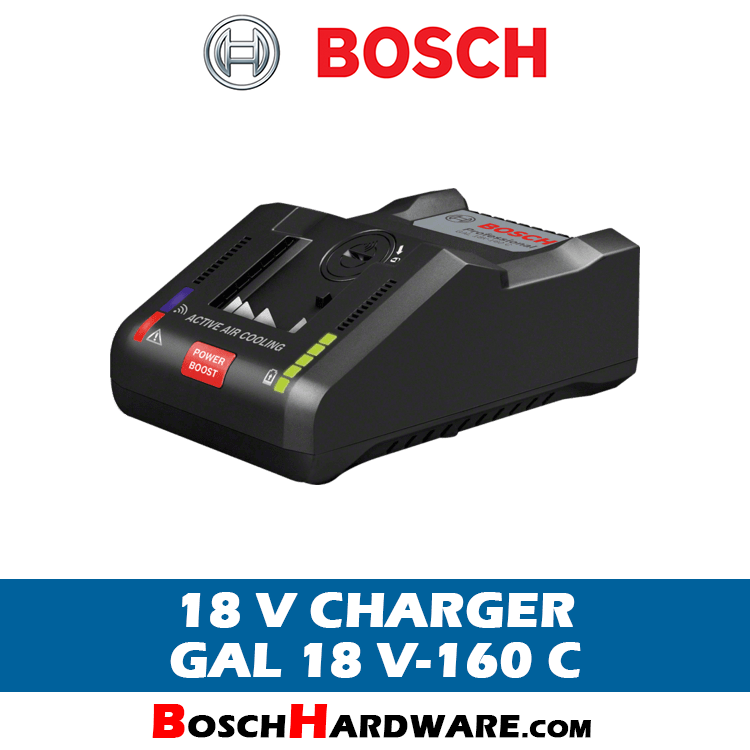 Bosch Battery Charger GAL 18 V-160 C
