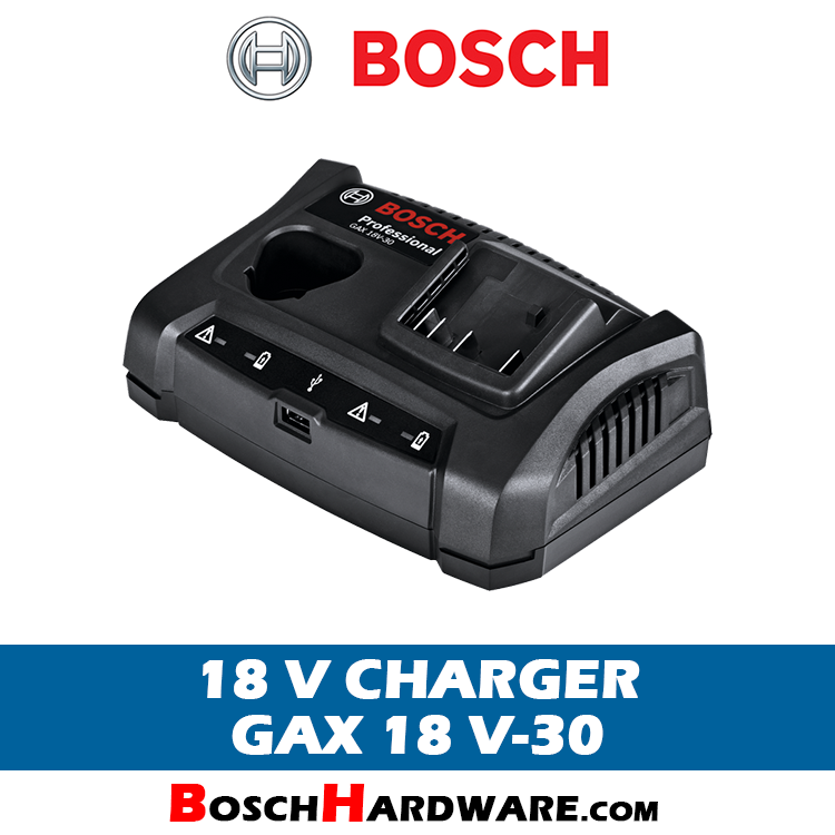 Bosch Battery Charger GAX 18 V-30