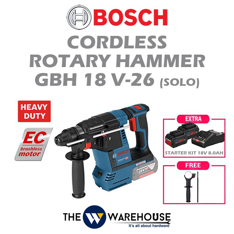 Bosch GBH18V-26 - combo 1