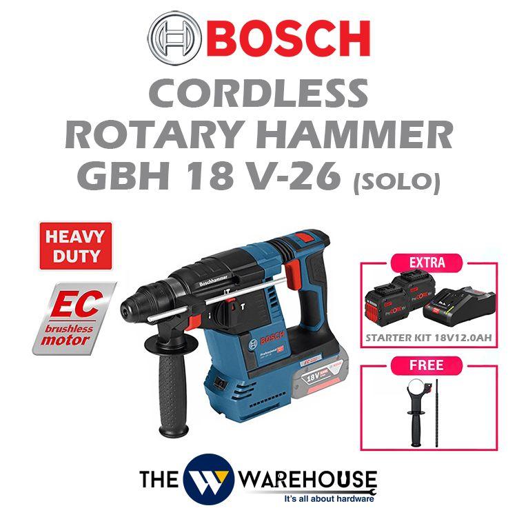 Bosch GBH18V-26 - combo 2