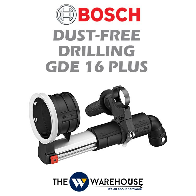 Bosch Dust Free Drilling GDE 16 Plus