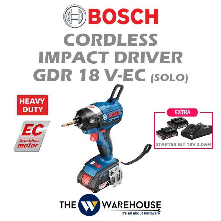 Bosch GDR18V-EC - combo 1