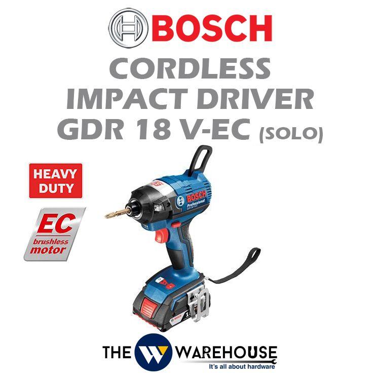 Bosch Cordless Impact Driver GDR 18V-EC (Solo)