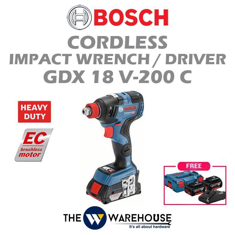 Bosch GDX18V-200C - standard
