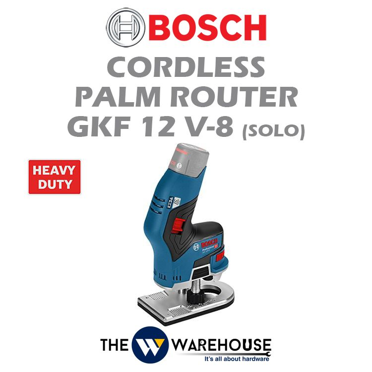 Bosch Cordless Palm Router GKF 12 V-8