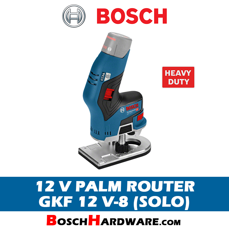 Bosch Cordless Palm Router [GKF 12 V-8]