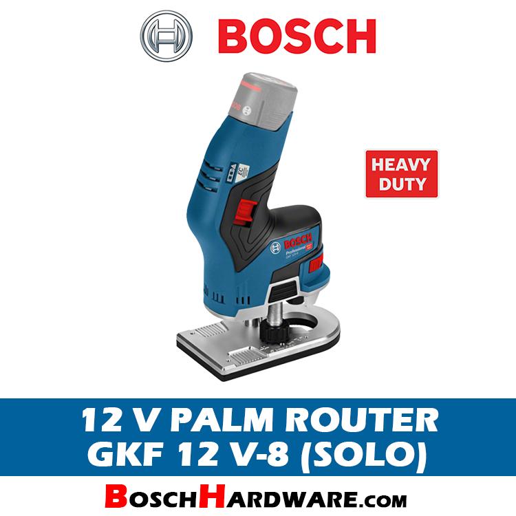 Bosch 12V Cordless Palm Router GKF 12 V-8