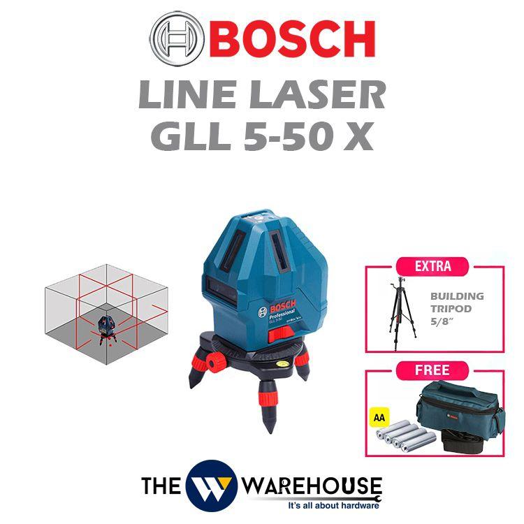 Bosch Line Laser GLL 5-50 X - Combo