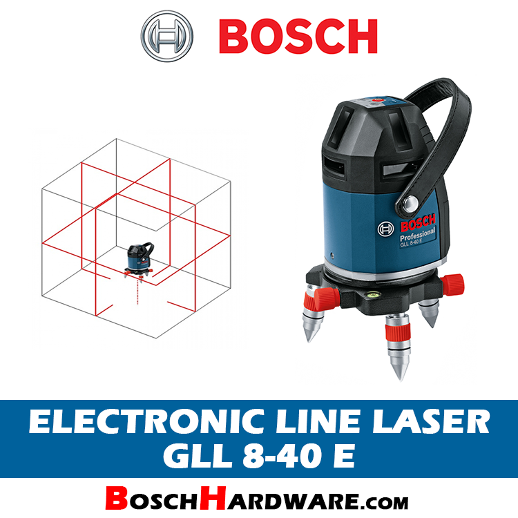 Bosch Electronic Line Laser GLL 8-40 E