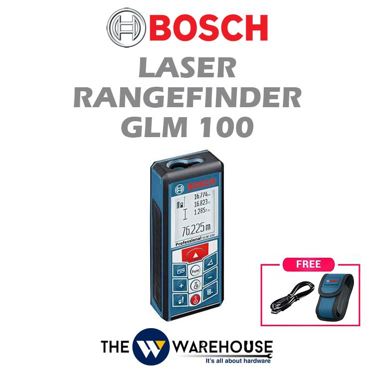 Bosch Laser Rangefinder GLM 100