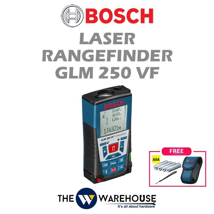 Bosch Laser Rangefinder GLM 250 VF
