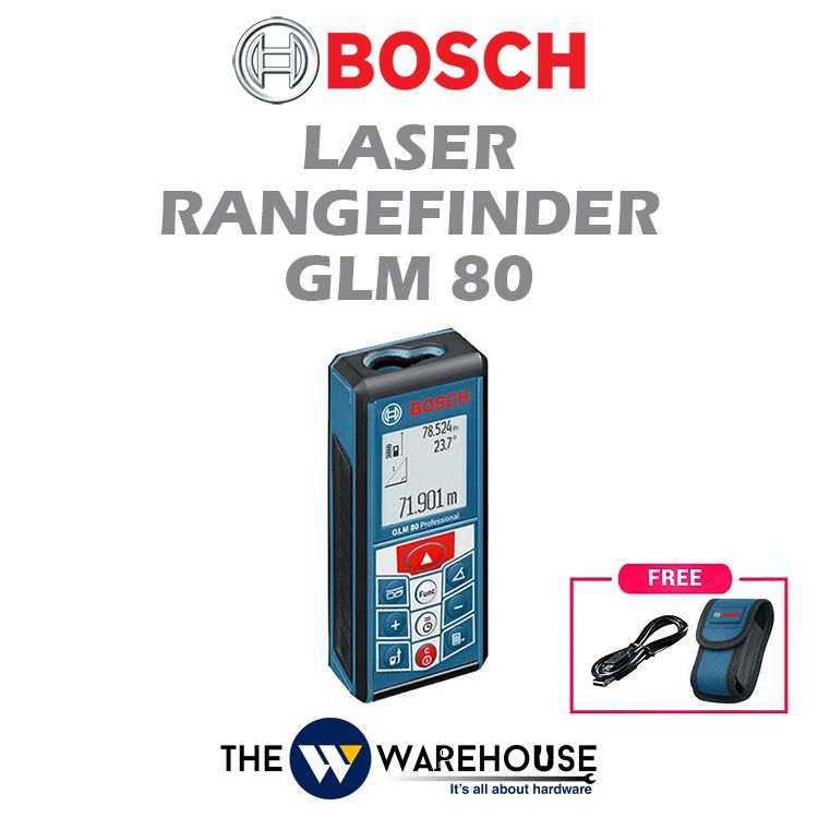 Bosch Laser Rangefinder GLM 80