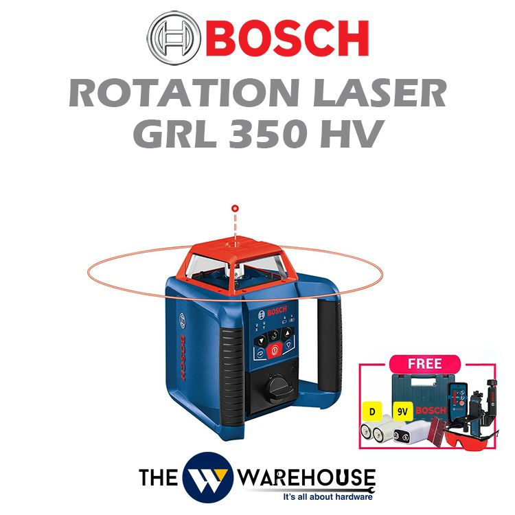 Bosch Rotation Laser GRL 350 HV