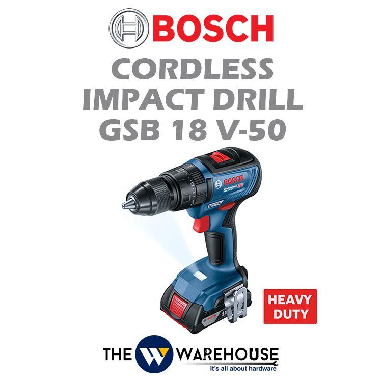 Bosch Cordless Impact Drill GSB 18 V-50