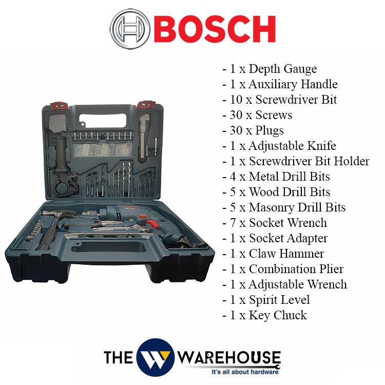 Bosch GSB10RE 100pcs Accs-1